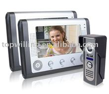 Guaranteed 100% video door phone (2 Monitors+1 camera) wholesale and retail(China)
