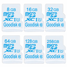 Mobile phone white Micro sd card high memory mini card 8GB class6 TF Card 16GB/32GB/64GB/128GB class10 microsd for 32 gb SD card(China)
