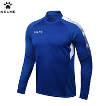 KELME Soccer Jerseys Men Survetement Football 2017 Long Sleeve Football Training Jersey Fitness Clothing K089