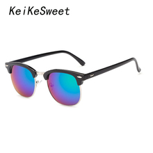 KeiKeSweet Hot Master Fashion Rivet UV400 Women Man Lady Sun Glasses Outdoor Rayed Vintage Brand Designer Sexy Sunglasses