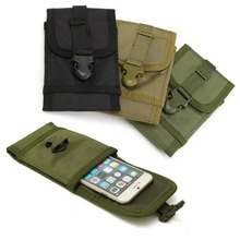 Classical Universal Waist Belt Clip Phone Pocket Army Outdoor Phone Pouch For BlackBerry Priv/Leap/DTEK50/DTEK60 Phone Cases(China)