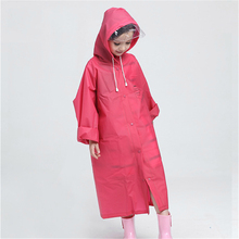 Kids Raincoat Waterproof Poncho Outdoor Rainwear Capa De Pluie Travel Impermeable Backpack Rain Cover Raincoat Clothing QQG342(China)