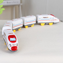 Smalll Electric Train Harmony Section 5 Train Cars Model Toy Diecasts & Toy Vehicles High Speed Train Toy