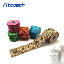 5.0cm*5m Kinematics Tex - Elastic Kinesiology Tape for Support & Healing - Cotton, Polyurethane, Acrylic Adhesive
