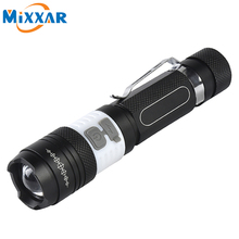 zk50 CREE T6 COB LED Flashlight Torch 4000LM 6 Mode Portable Waterproof Rechargeable Camping Bike Light Lamp Lanterna Flashlight