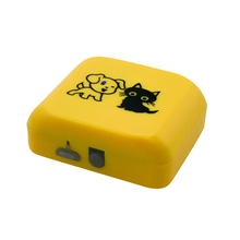 Waterproof Pets GPS Tracker Long Standby Time Dog Cat Pet Animal GPS Tracking device dual positioning(China)