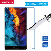 Buy XinYaDa Soft Glass Nano Explosion proof Screen Protector Protective Lcd Film Guard Elephone S8 Tempered Glass for $1.49 in AliExpress store
