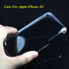 1 Pc New Ultra Thin Glossy Transparent Clear Crystal Hard Plastic Case Cover Skin For Apple iPhone 3G 3GS High Quality