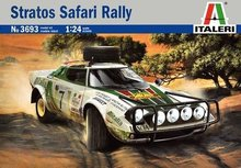 Out of print! Italeri 3693 1/24 Stratos HF WRC Rally Plastic Model Kit(China)