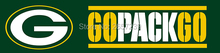 Green bay packers banner Flag 8x2FT NFL banner 100D 240x60CM Polyester brass grommets custom66,free shipping(China)