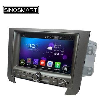 SINOSMART NO DVD 1.6 GHz, Quad Core 7 Pouce Android 5.1 Voiture de Navigation GPS pour SsangYong Rexton sans Canbus