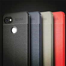 For Google Pixel 2 XL Case Luxury Leather TPU Silicone Phone Case For Google Pixel 2 XL Back Cover
