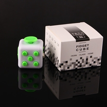 Wigrow Fidget Cube Desk EDC Toys Magic Cubes Stress Relieve PVC Material Gifts for Autism ADHD Kids Foucs Gift For Kids/Adults(China)
