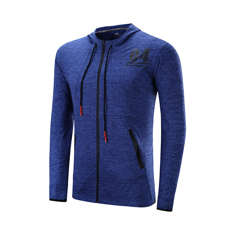 Winter Sports Fitness Jacket Men Breathable Quick-drying Running Jersey Wind Coat Protect Hooded Running Jacket For Men<br><br>Aliexpress