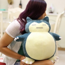 "20"" Big Size 50cm Jumbo SNORLAX Plush Toy Kabigon Plush Toy Soft Doll Kids Gift Plush Doll"