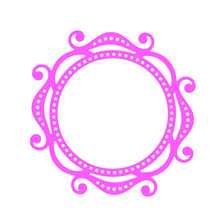 Mirror Frame Customize Cutting Dies DIY Metal Die Craft Photo Album Scrapbooking Hand-on Decoration Embossing Stencil New(China)