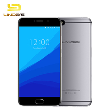 Umidigi C Note Android 7.0 Metal Cell Phone Fingerprint Mobile Phone MTK MT6737T 3GB RAM 32GB ROM 3800Mah Auto-focus 4G Phone