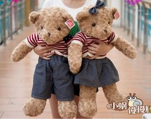40-75cm Movie Cartoon Teddy Bear Ted Plush Toys Soft Stuffed Animals Dolls Valentine Gift Girl Present Christmas Lover Couple(China)