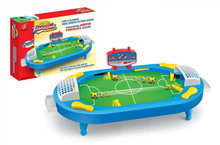 football game children's mini version of table soccer Toys football board game table kids toys classic gift(China)