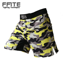 FFITE MMA boxing muay thai kickboxing cheap mma shorts men muay thai sanda boxe trunks camo cheap sanda fight sotf grappling(China)