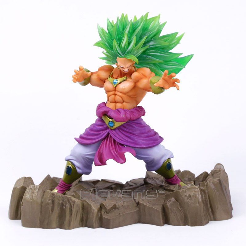HYBRID GRADE Dragon Ball Z Super Saiyan 3 Broly PVC Figure Collectible Model Toy<br>