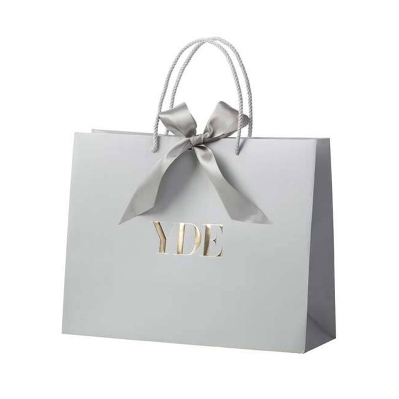 Fancy Birthday Packing Gift Bag  ribbon paper bag
