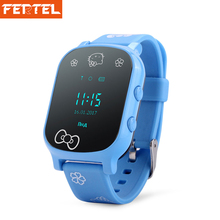 T58 GPS Tracker Smart Watch Kids Child Elder Bracelet Personal Locator GPS Bracelet Google Map For IOS & Android Free Ship(China)