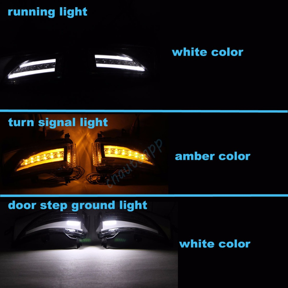 nissan Rearview Mirror LED Light 2
