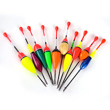 FISH KING 10PCS/Lot Mix Size Color Ice Fishing Float Bobber Set Buoy Boia Floats For Carp Fishing Tackle Accessories