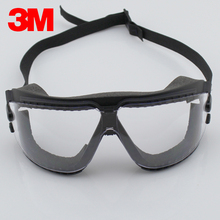 3M 16618 Safety Goggles cycling Anti Fog shock sand dust scratch coating lens chemical splash Glasses Eye Protection