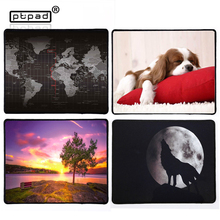 fashion popular small Size Gaming mouse Pad Beautiful animal Mouse Mat landscape/Cute/Cartoon/Mouse Pad Non-Skid Rubber mousepad(China)