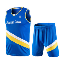 Basketball Jersey New Letter Printed Basketball Suit Sports Suit Children'S Wear Basketball Clothing Speed Dry Training Clothing