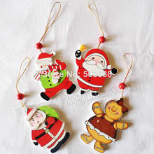 160PCS/LOT,New X'mas santa hanger,Christmas tree ornament,Home decoration.X'mas gift,X'mas Decoration Supplies,4design.Wholesale