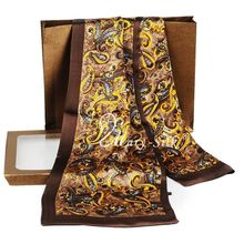 Great   Gift!  Mens 100% Silk  Long  Scarf  Cravat  Scarives  Layer --- For Spring  Autumn Winter
