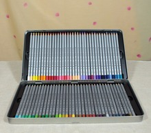 72 Colored Pencils Drawing Sketches Coloring Pencil Iron Tin Box Pintar Con Lapis de Cor profissional School 7100-72TN(China)