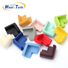 8Pcs/Lot Baby Kids Safety Care Products Environmentally Friendly Soft Super Elastic NBR Thicken Baby Crash Corner Protector(China)