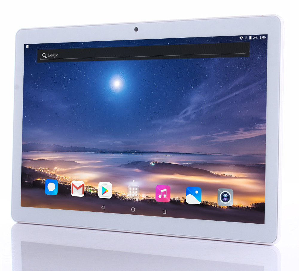 10.1 inch Android 7.0 MT6753 tablet pc Octa core 3G 4G LTE 4GB RAM 64GB ROM tablets Bluetooth GPS 1920*1200 IPS Mini tablet+Gift