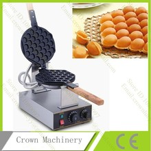 Hongkong Stainless Steel Electric Egg cake oven;QQ Egg Waffle Maker;egg wafer iron machine