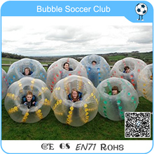 8 pcs(4 Red +4 Blue+2 Pump) Children/Adult Soccer Bubble Ball/Inflatable Bumper Ball/Inflatable Body Zorb Soccer For Sale