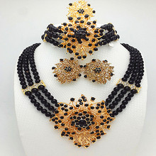 free shopping jewelry set best quality african big jewelry sets wedding costume jewellery african bead jewelry women necklace