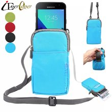 Outdoor Nylon Pouch Case for Samsung Galaxy Xcover4 , Xcover 3 , Wide2 , Z4 , Express Prime 2 , Amp Prime 2 Phone Wallet Bag