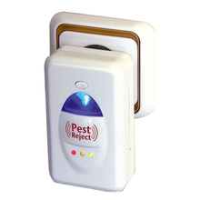 Effective Safe Ultrasonic Electronic Pest Repeller Killer Insect Rodent Mosquitoes Rat Cockroaches Control Pest Reject EU Plug