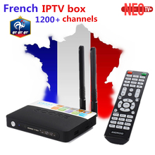 French Belgium IPTV CSA93 Amlogic S912 2GB 16GB Android 6.0 TV Box +1200+ NEOTV Europe Arabic Morocco PayTV & VOD Set top Box(China)