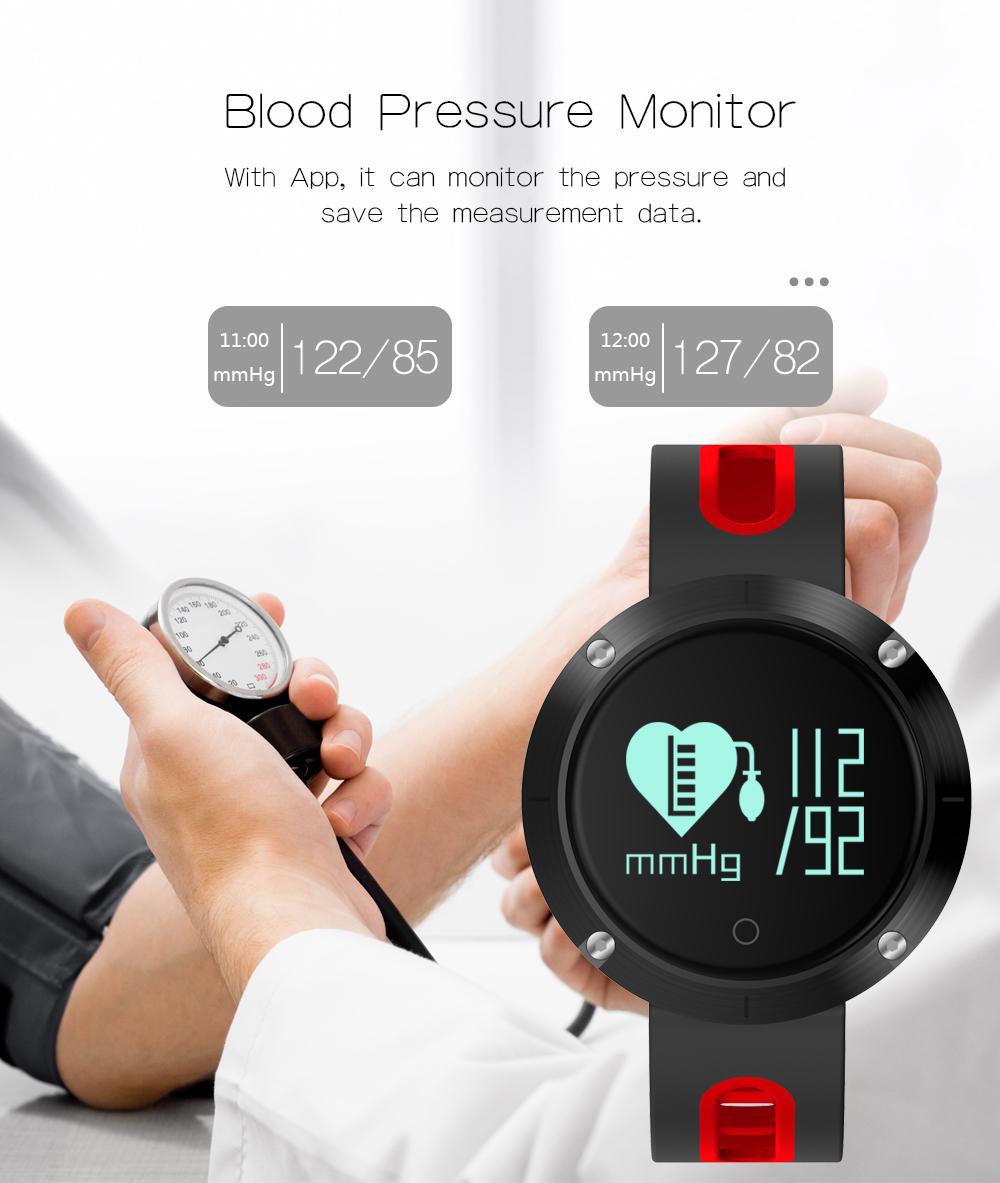 Smart band DM58 Waterproof Smart Wristband Heart rate monitor Blood Pressure Watch Smart bracelet Fitness Tracker PK mi band 2 11