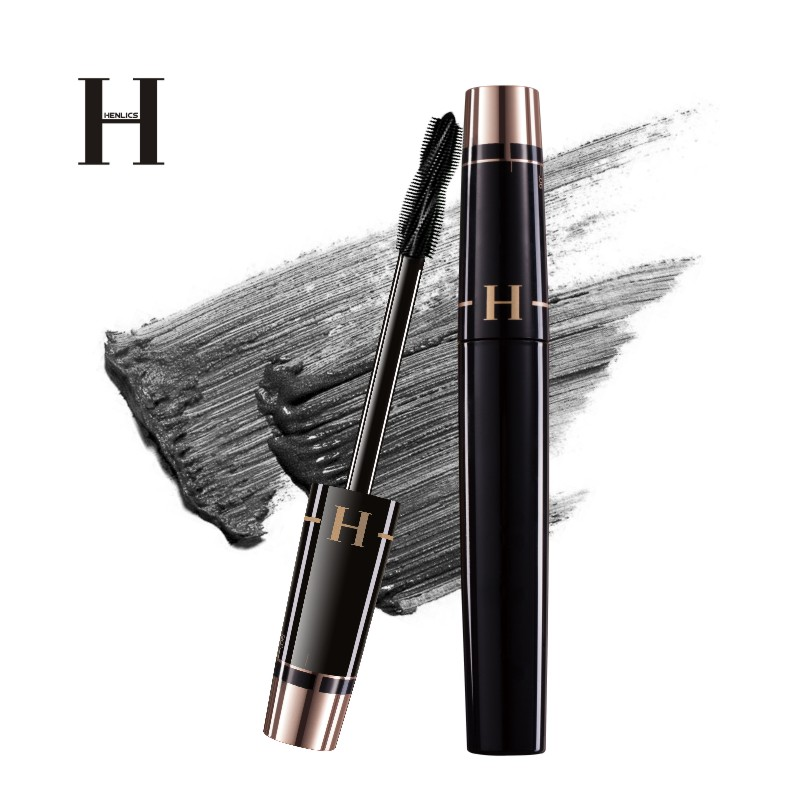 HENLICS Multi-functional 3D Mascara Waterproof Liquid Fiber Long Black Eyelashes Makeup Curling Mascara Lash Extension Mascara (21)