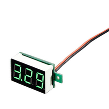 1pcs New Arrival LCD Digital Voltmeter Voltimetro Red LED Amp Volt Meter Gauge Voltage Meter DC