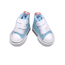 3.5cm Mini Shoes For Blythe Doll Toy,Assorted Colors Mini Canvas Casual Shoes 1/6,Sneakers for BJD dolls accessories 8pairs/lot(China)