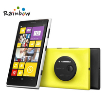 "Nokia Lumia 1020 original unlocked mobile phone 41.0MP Camra 32GB ROM 2G RAM  4.5"" Touch screen Dual core GPS WIFI Free shipping"
