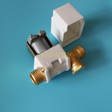 "1pc 12vdc Electric Solenoid Valve For Water Air Solar System Water Heater N/C 12V  DC 1/2"" Normally Closed"