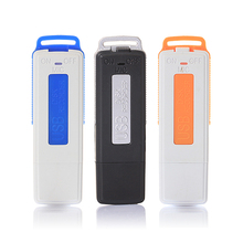 Mini 8GB USB Recorder Pen Flash Drive Disk Digital Audio Voice Recorder 15 Hours Portable HD Sounds Quality Dictaphone(China)